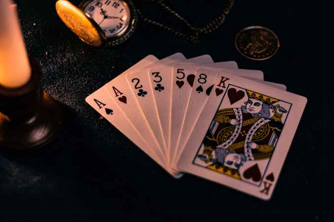close up photo of playing cards