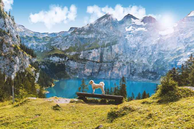 adventure alpine atmosphere daylight
