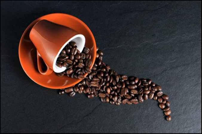 beans brew caffeine coffee